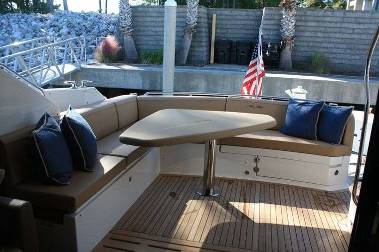 INCOGNITO  62 Yacht Charter - Aft Deck