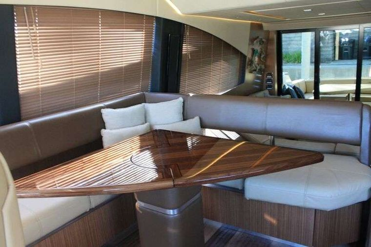 INCOGNITO  62 Yacht Charter - Dining Table