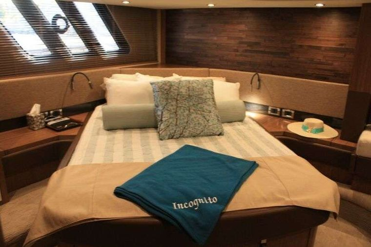 INCOGNITO  62 Yacht Charter - Master Stateroom
