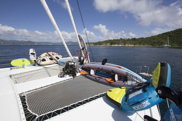 NENNE Yacht Charter - Trampolines and Lots of Water Toys