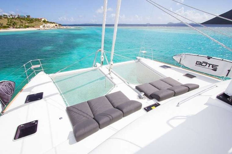 LE REVE L620 ESSENCE Yacht Charter - Foredeck lounging