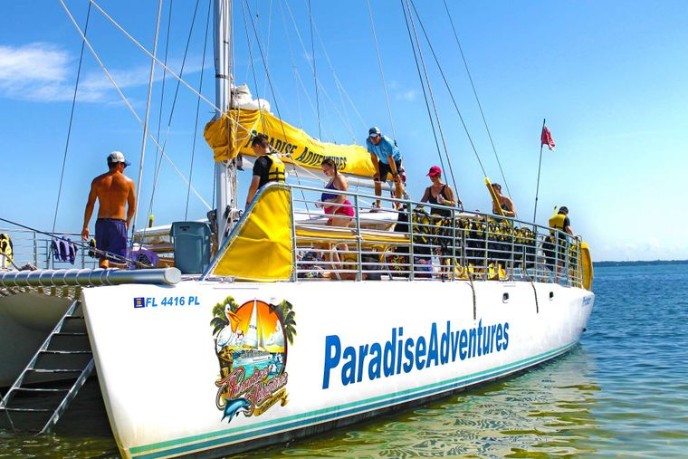 Privateer Yacht Charter - Easy beach and water access!