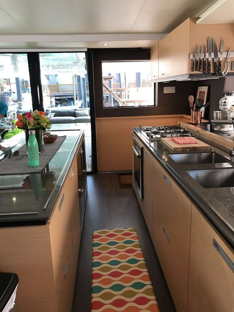 ULTRA Yacht Charter - Galley