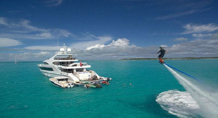 BIG SKY Yacht Charter - Toys and Tenders