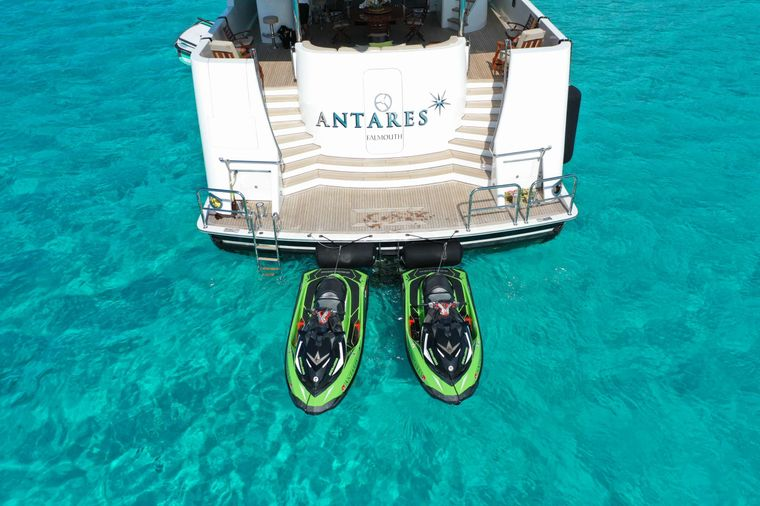 ANTARES Yacht Charter - Tender & toys