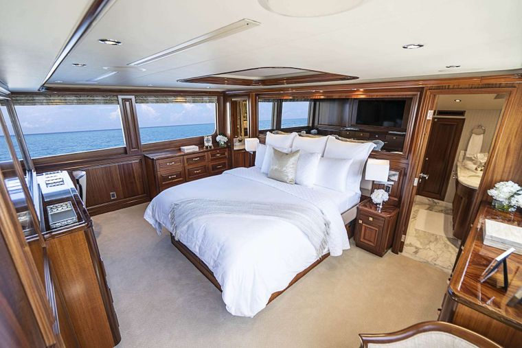 ANTARES Yacht Charter - On Deck Master