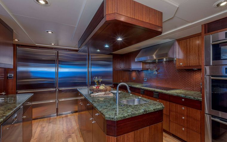 AVALON Yacht Charter - Galley