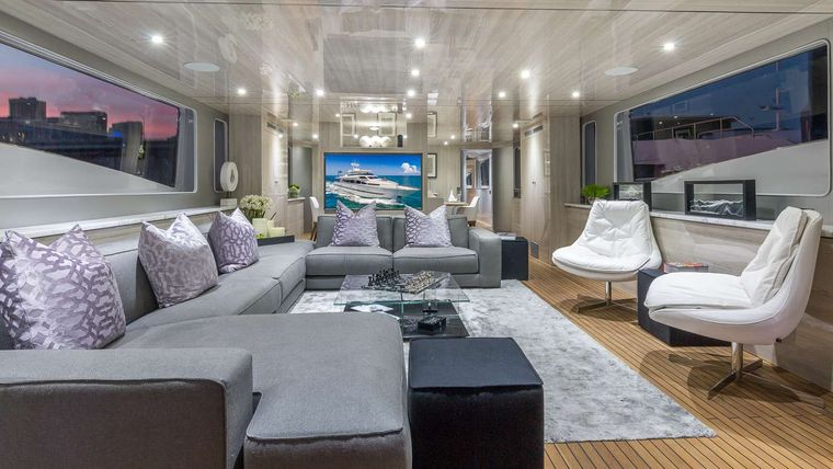 Nirvana Yacht Charter - Main Salon