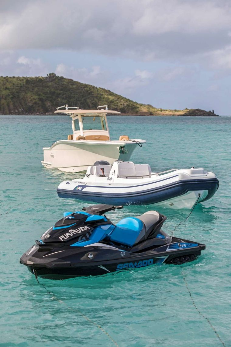 Pura Vida Yacht Charter - Tenders and Waverunner