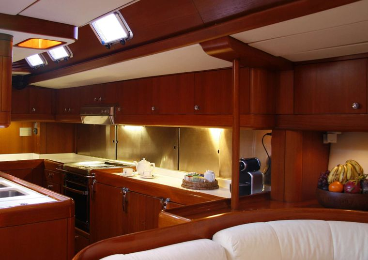 ASPIRATION Yacht Charter - Galley