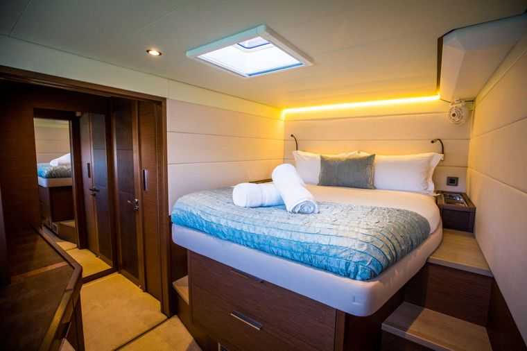 LADY FIONA Yacht Charter - Guest Double Cabin