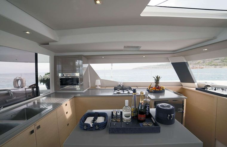 NEW HORIZONS 2 Yacht Charter - GALLEY