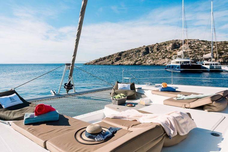 NEW HORIZONS 2 Yacht Charter - Forward Another View