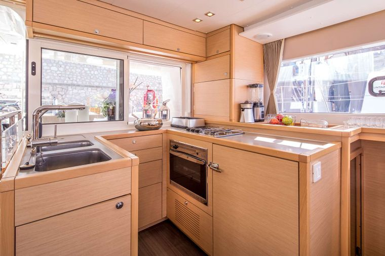 NEW HORIZONS Yacht Charter - Galley