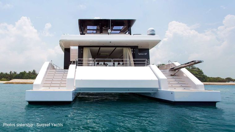 MAYRILOU Yacht Charter - AFT VIEW