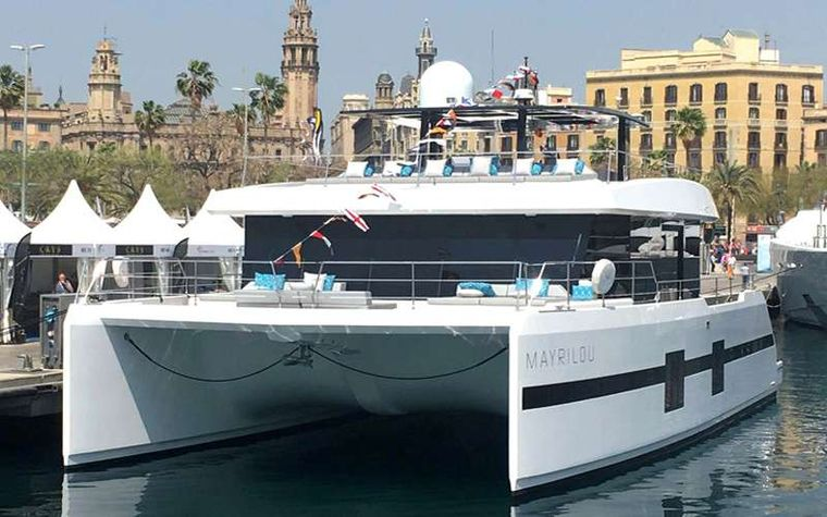 MAYRILOU Yacht Charter - Mayrilou in Barcelona