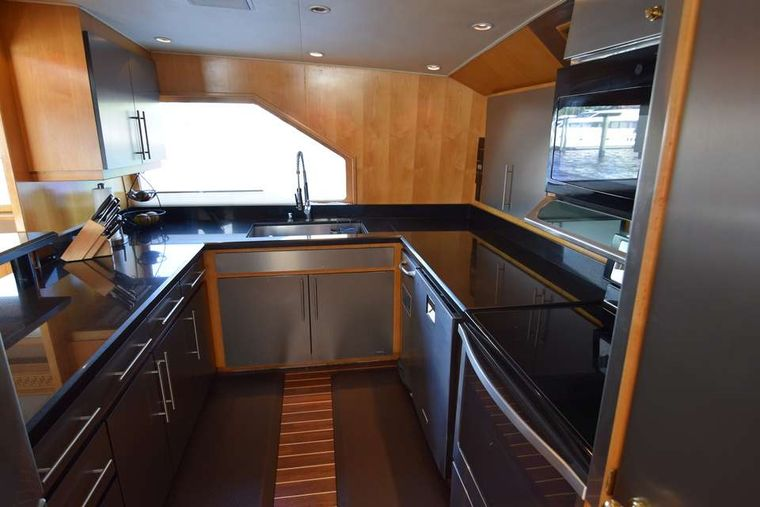 ISLAND VIBES Yacht Charter - Galley