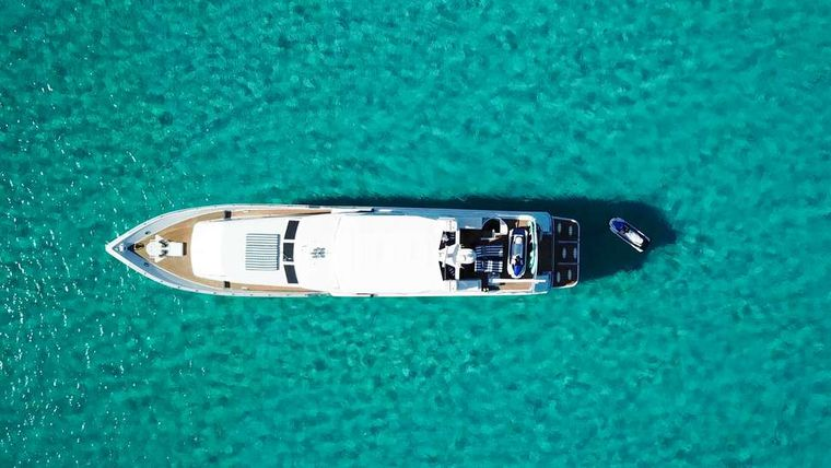 ISLAND VIBES Yacht Charter - Aerial view