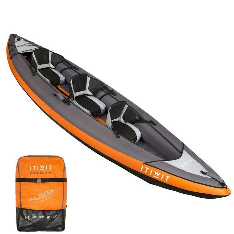 Blue Moon Yacht Charter - Inflatable Kayak_3 seats