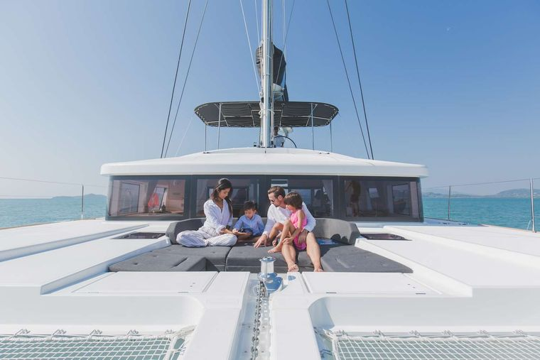 Blue Moon Yacht Charter - Fore Deck