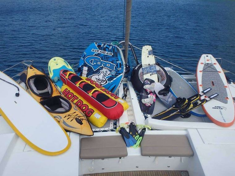 AZURIA Yacht Charter - Water toys!