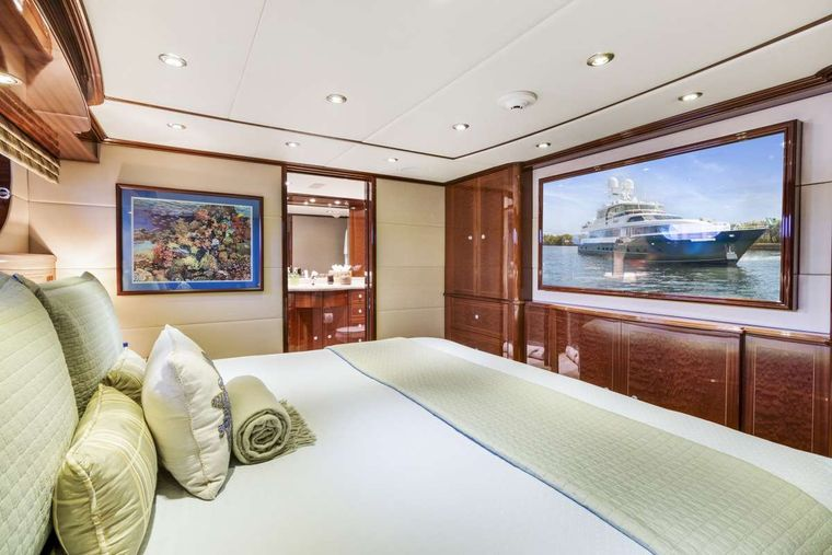 SERQUE Yacht Charter - Guest Stateroom