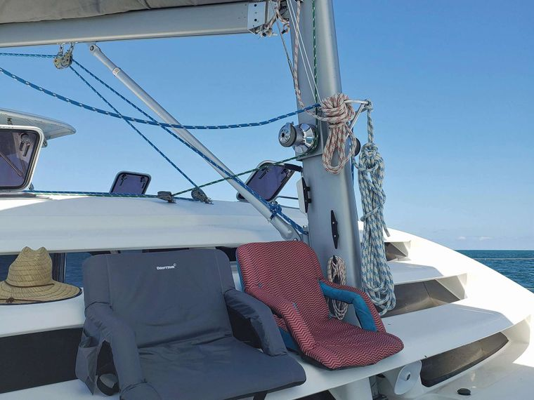 THE SPACE BETWEEN Yacht Charter - Sit Back and Enjoy the View