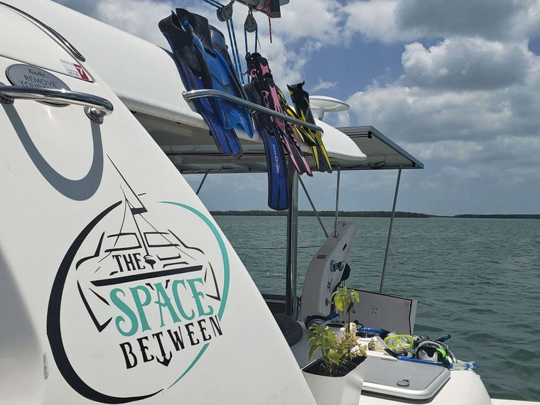 THE SPACE BETWEEN Yacht Charter - Rear Deck Area