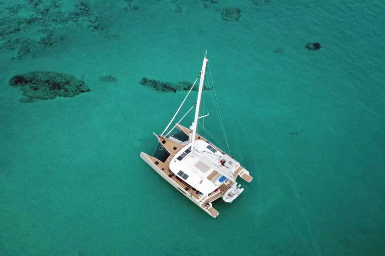 TRILOGY Yacht Charter - View from Above