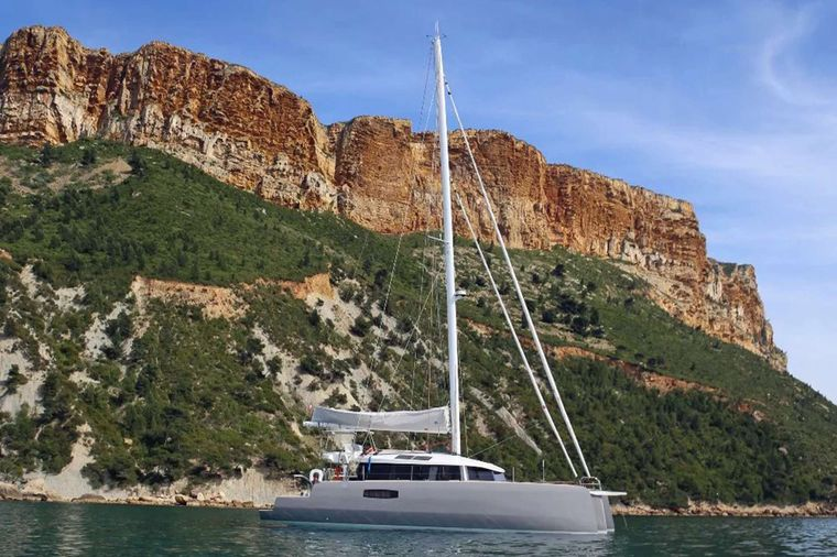 TRILOGY Yacht Charter - Anchoring in Calm Waters