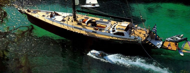 WIND OF CHANGE Yacht Charter - Deck