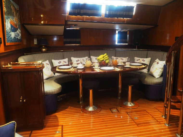 WIND OF CHANGE Yacht Charter - Dining