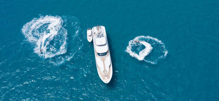 VALHALLA Yacht Charter - Tender and toys