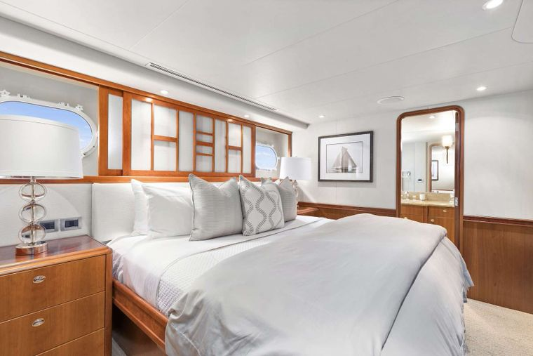VALHALLA Yacht Charter - (2) Identical King guest staterooms