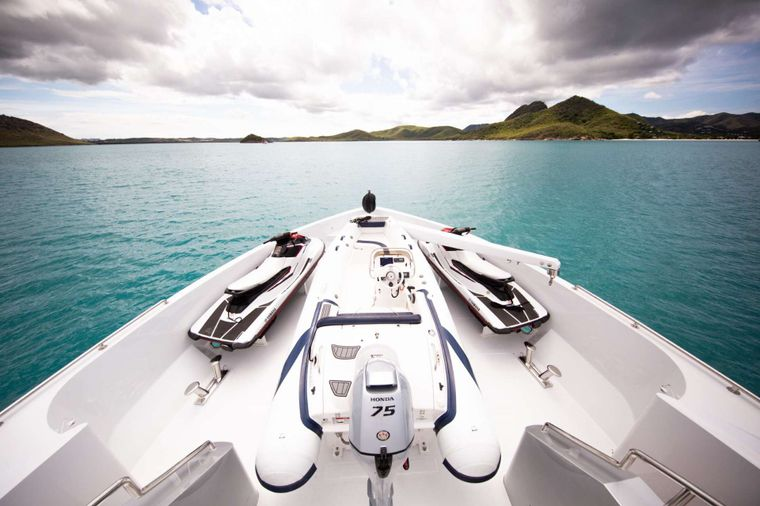 Just Enough Yacht Charter - Bow