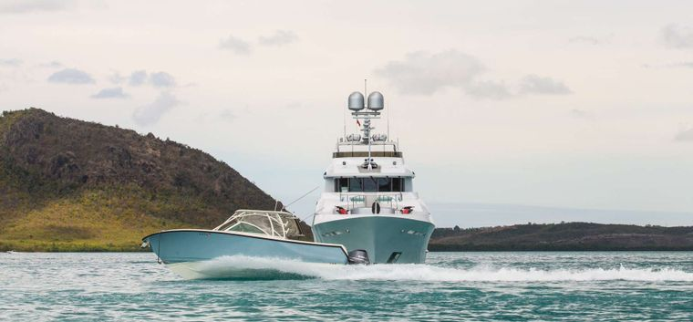 Just Enough Yacht Charter - 34ft Tender