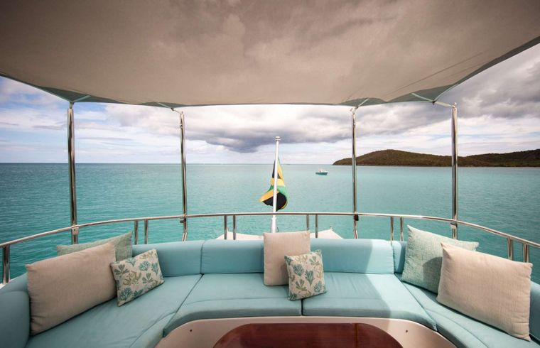 Just Enough Yacht Charter - Lounge Area