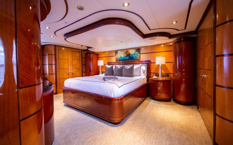 Just Enough Yacht Charter - Master Stateroom