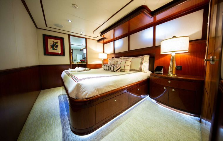 Just Enough Yacht Charter - Guest Stateroom