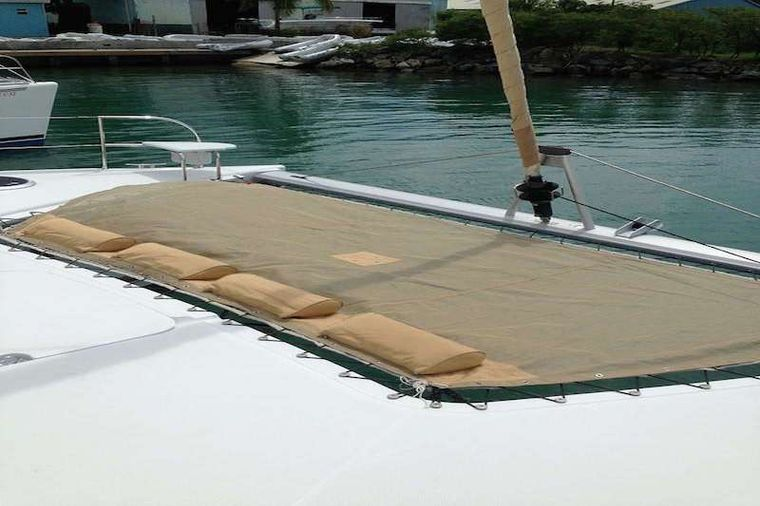 ALLADORA Yacht Charter - Foredeck lounging