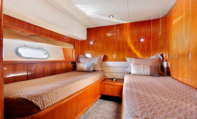 PRIVEE Yacht Charter - Guest Stateroom