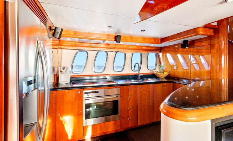 PRIVEE Yacht Charter - Galley