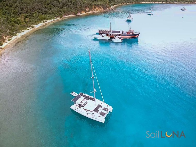 LUNA Yacht Charter - Let us show you some of our favorite spots in the Virgin Islands