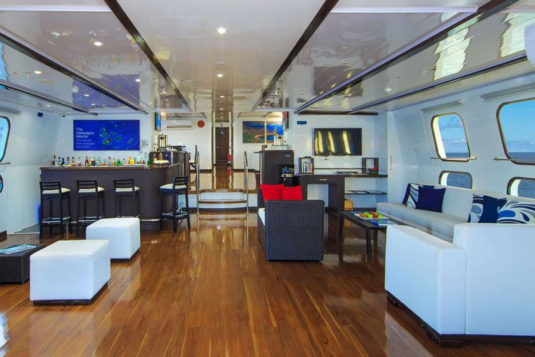 Natural Paradise Yacht Charter - Lounge