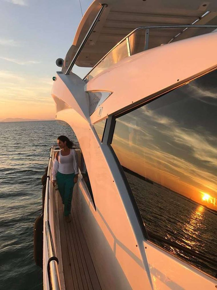 QUESTA e VITA Yacht Charter - STABILIZERS Zero Speed & Underway offer excellent cruising performance & stability At Anchor