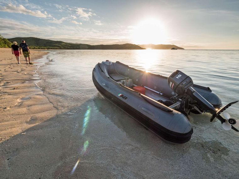 GREY WOLF Yacht Charter - 3m Alloy Inflatable 10hp motor