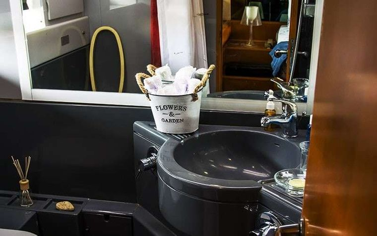 SOFIA Yacht Charter - Master WC