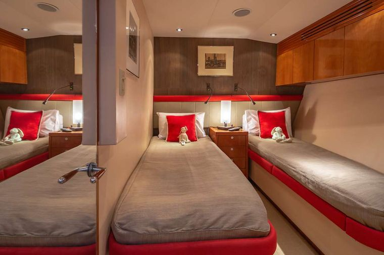 ASTRAPE Yacht Charter - Twin Guest cabin