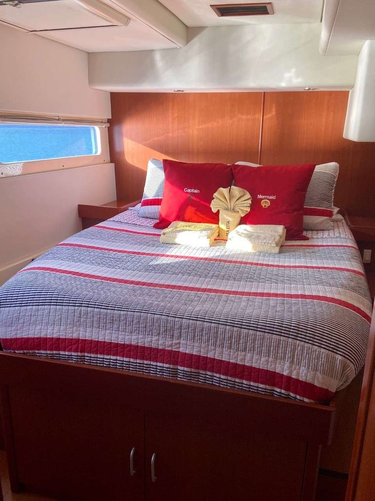 SEA ESTA Yacht Charter - Have the best sleep ever as all staterooms provide cooling memory foam mattress toppers.