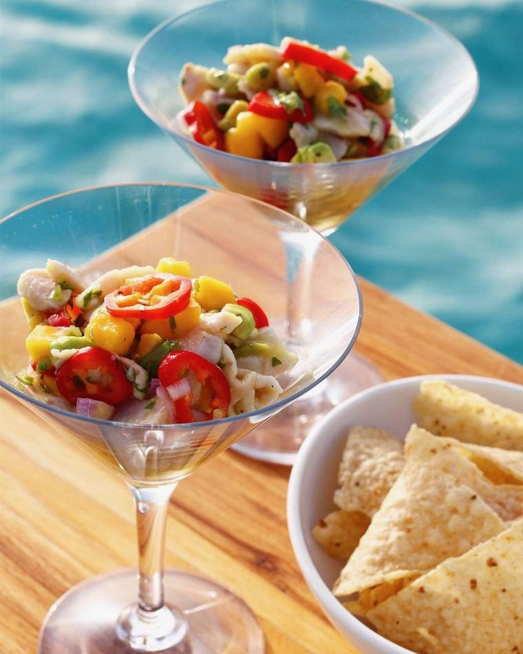 ETERNITY Yacht Charter - Seafood Ceviche